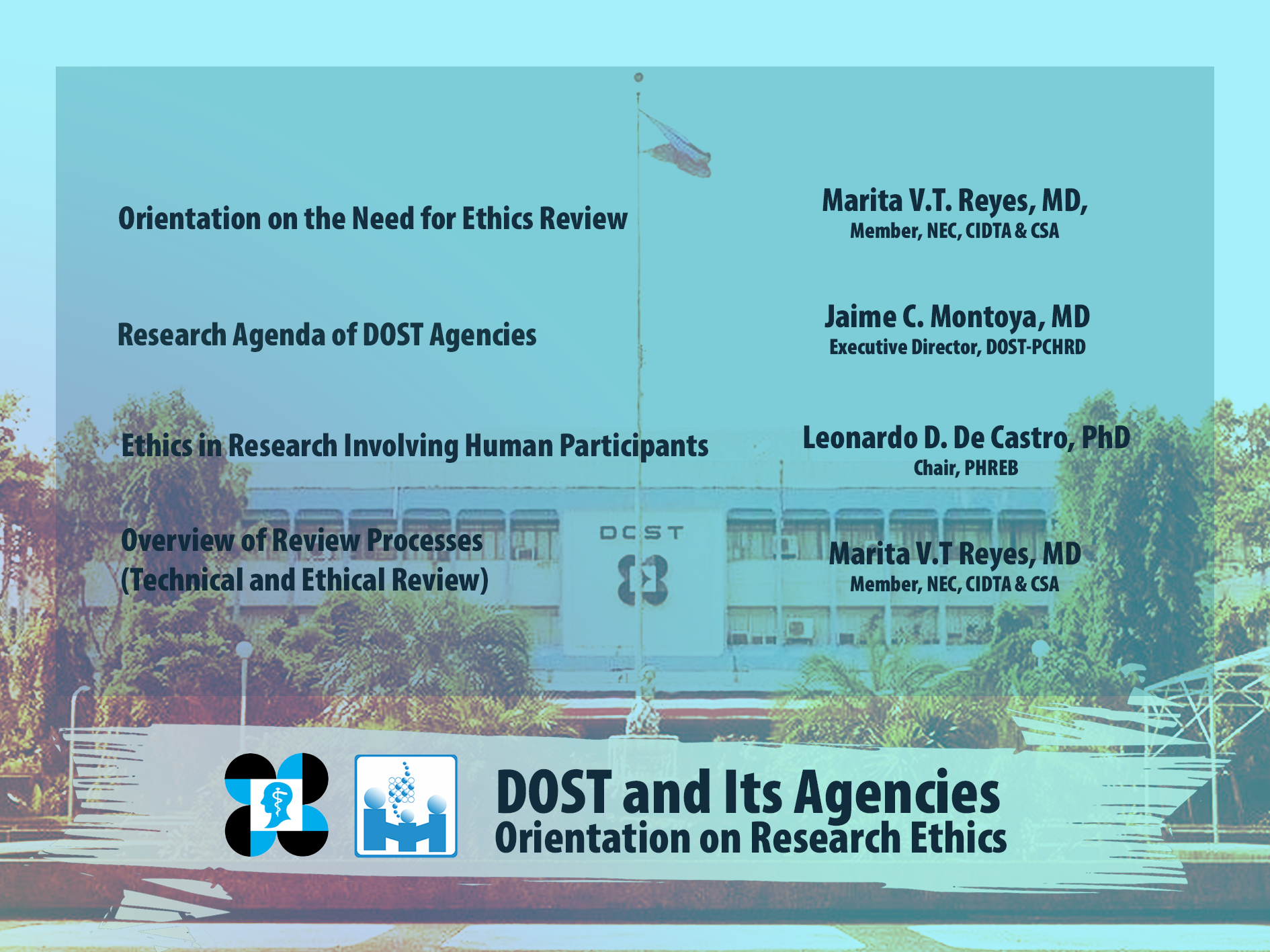 2020 DOST and Its Agencies Orientation on Research Ethics